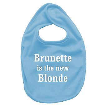 Bavaglino neonato turchese fun2790 brunette is new blonde