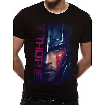 Thor: Ragnarok aikuisten Unisex aikuisten Thor script T-paita
