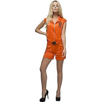 Fever Convict Queen Costume, Small