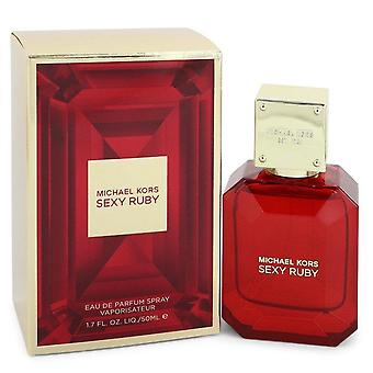 Michael Kors Sexy Ruby Eau De Parfum Spray By Michael Kors   548407 50 ml