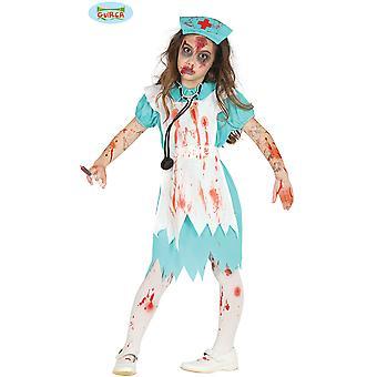 Children's costumes  zombie nurse costume for girls