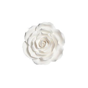 Culpitt Gumpaste Rose hvid 101mm