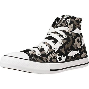 Converse Chuck Taylor All Star Sneakers - Hi Color Black