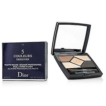 Christian Dior 5 Värisuunnittelija All In One Professional Eye Paletti - Nro 708 Amber Design 5.7g /0.2oz