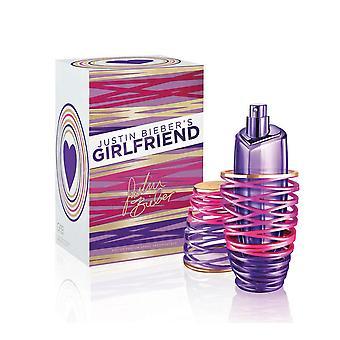 Girlfriend for women by justin biebere 3.4 oz eau de parfum spray