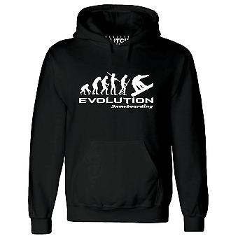 Évolution de pépin de réalité du hoodie de mens de snowboard