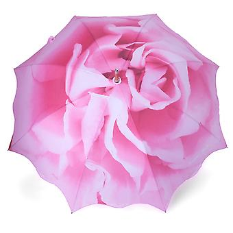 Umbrella stick umbrella subject rose pink