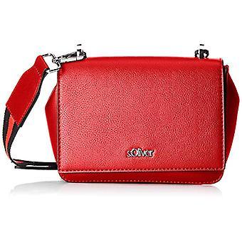 s.Oliver (Bags) City Bag - Red Woman Shoulder Bags (Fresh Tomato) 8x14x17 cm (B x H T)