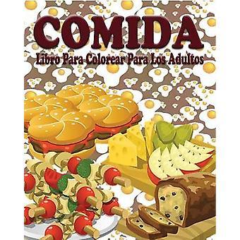 Comida Libro para Colorear para los Adultos van Jason potas
