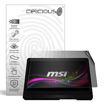 Celicious Privacy 2-Way Anti-Spy Filter Screen Protector Film Compatible with MSI Pro 16B Flex