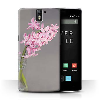 STUFF4 Case/Cover for OnePlus One/Hyacinth/Pink Fashion