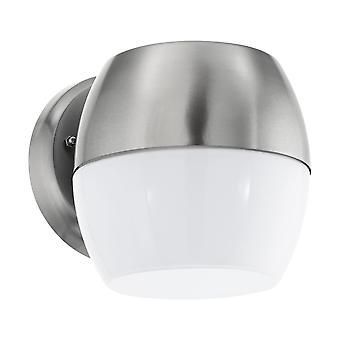 Eglo Oncala - LED Outdoor Wall Downlight Stainless Steel IP44 - EG95982