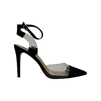 INC International Concepts Womens Kaija Fabric Pointed Toe Formal Ankle Strap...