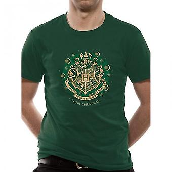 Harry Potter Mens Happy Galtvort T-skjorte
