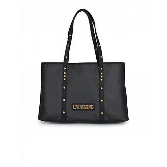 Love Moschino Accessories Stud Detail Shopper Bag