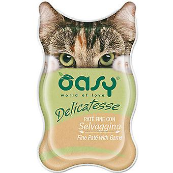 Oasy Fine Pate with Game (Cats , Cat Food , Wet Food)