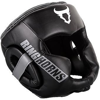 Ringhorns Charger Headguard Black/White