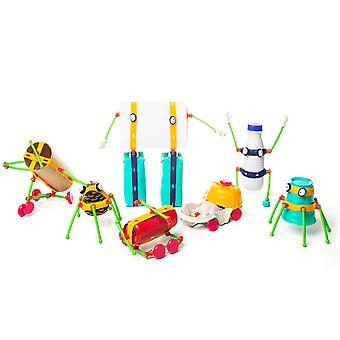 toyi kids recycle anything event creative building kit with drawstring bag