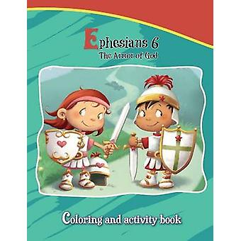 Ephesians 6 Coloring and Activity Book The Armor of God by de Bezenac & Agnes