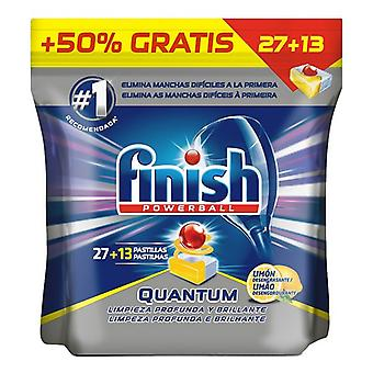 Dishwasher lozenges Finish Quantum Lemon 27+13 washes