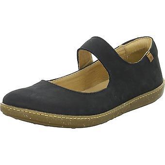 El Naturalista Ballerinas Coral Pleasant N5301CORALBLACK universal summer women shoes