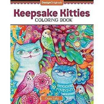 Keepsake Kitties Coloring Book by Oxana Zaika - 9781497204591 Book