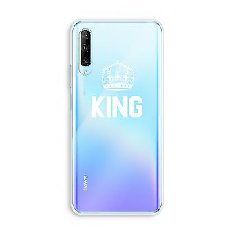Huawei P Smart Pro Transparent Case (Soft) - Roi noir