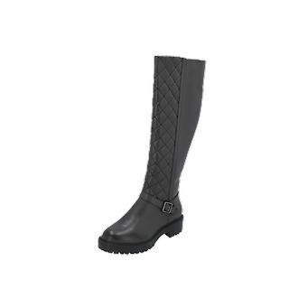 New Look Wide Fit CUILT Women's Boots Black Lace-Up Boots Winter