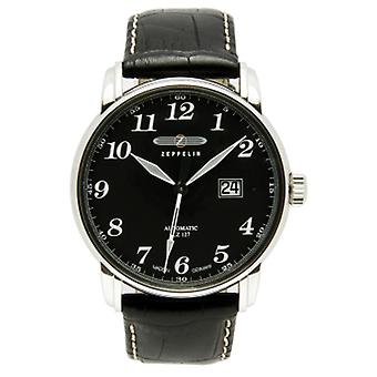 Count Automatic Analog Man Watch with Cowhide Bracelet 7652-2