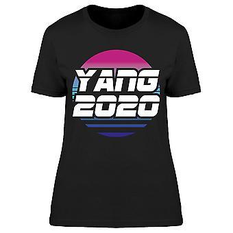 Yang 2020 Val Retrowave Kvinnor & s T-shirt