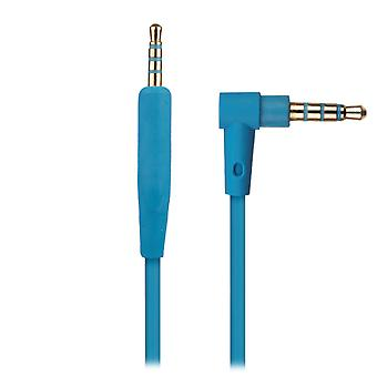 REYTID Audio Cable Compatible avec Bose QuietComfort 25 / QC25 Casques - Bleu - Compatible avec iPhone / Android