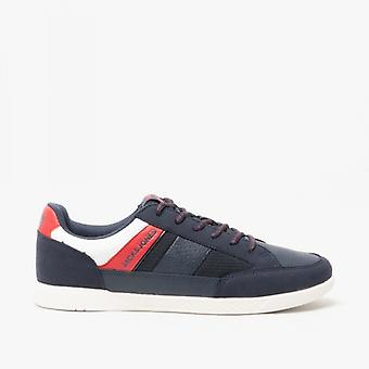 Jack & Jones Byson Sport Combo Mens Casual Trainers Navy Blazer