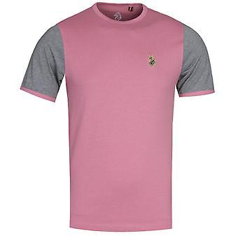 Luke 1977 Cassis Pink Ringer T-Shirt
