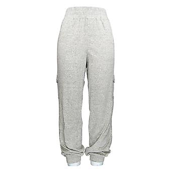 Anybody Women's Pants Tall Jogger Style w/ Elastic Waistband Gray A310169