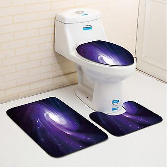 3 pieces of toilet mat set Bath Rugs - Extra Soft Non Slip Absorbent Bath Mats