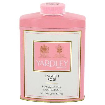 English Rose Yardley talco por Yardley Londres 7 oz talco