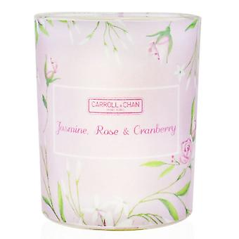 Carroll & Chan 100% Beeswax Votive Candle - Jasmine Rose Cranberry 65g/2.3oz