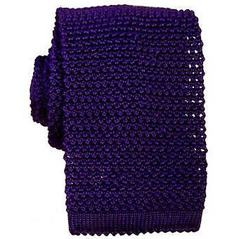 KJ Beckett punto corbata de seda - morado