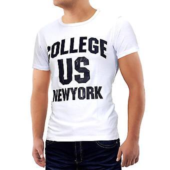 Mannen T-Shirt Sport Polo rekken New York ons College Club dragen Shirt Basic