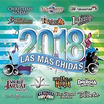 Various Artist - Mas Chidas Del 2018 [CD] USA import