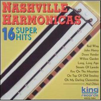 Nashville Harmonicas - 16 Super Hits [CD] USA import