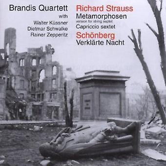 Schönberg/Strauss - Strauss: Metamorphosen; SCH Nberg: Verkl Rte Nacht [CD] USA import