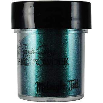 Lindy's Stamp Gang Midnight Teal Obsidian Embossing Powder