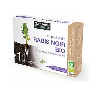 Organic Black Radish 20 ampoules of 10ml