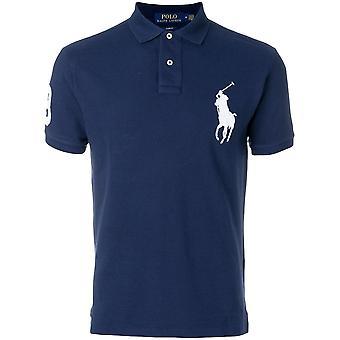 Großes Pony Logo Polo Shirt