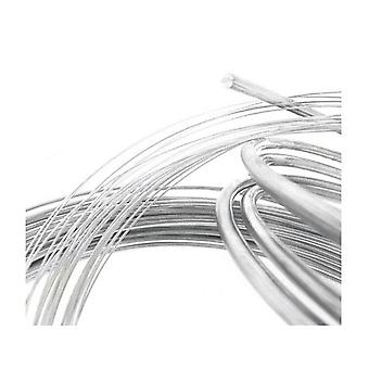 Sterling Silver 2Mm Soft Argentium Round Wire Rod Jewellery Craft