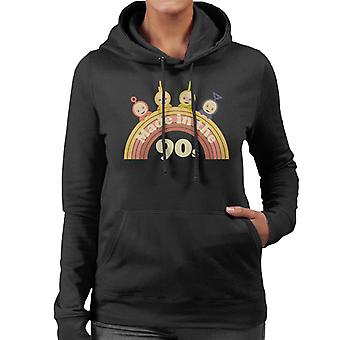 Teletubbies Made In The 90s Women's Hooded Sweatshirt