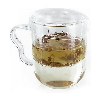 Glass mug 1 unit