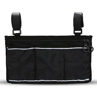 Wheelchair Side Bag With Accessory For Your Mobile Devices