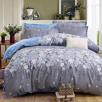 Classic Bedding Set - Duvet Cover Flower Bedsheets